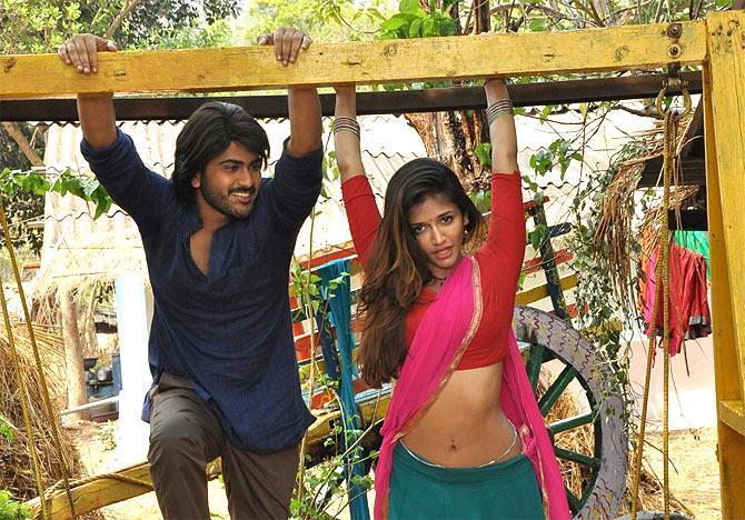 Puneet Singh Ratn and Anaika Soti in Satya 2