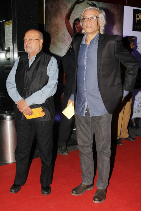 Shyam Benegal and Sudhir Mishra