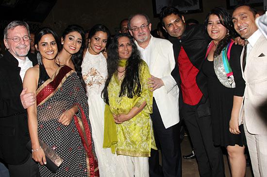 David Hamilton, Neha Tripathi, Shriya Saran, Shahana Goswami, Deepa Mehta, Salman Rushdie, Samrat Chakrabarti, Shikha Talsania, Rahul Bose