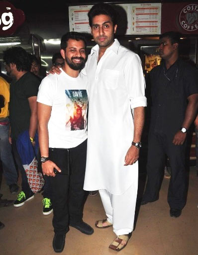 Bejoy Nambiar and Abhishek Bachchan