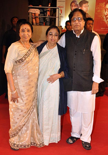Asha Bhosle, Usha and Hridaynath Mangeshkar