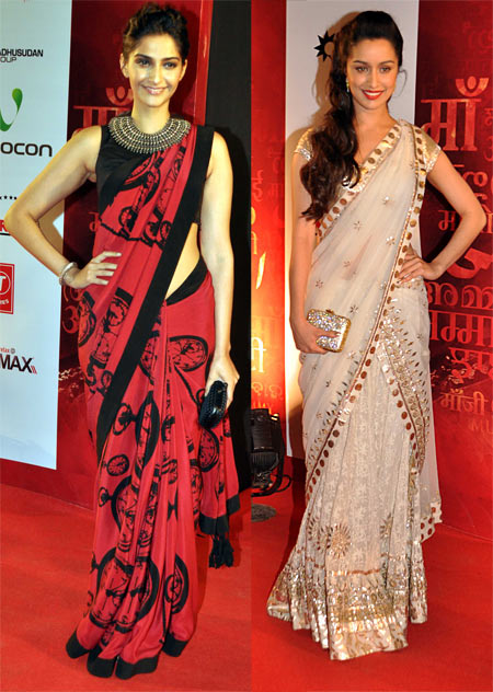 Sonam Kapoor and Shraddha Kapoor
