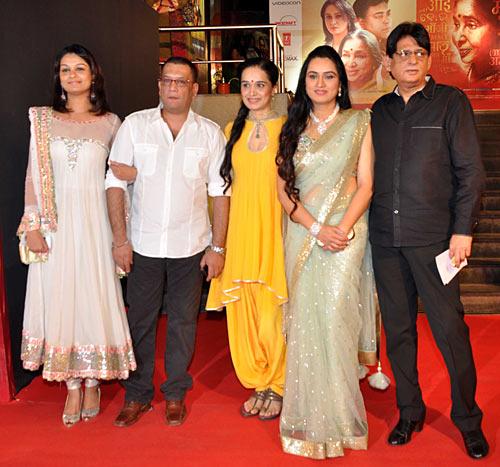 Tejaswini Kolhapure, Pankaj Saraswat, Shivangi and PAdmini Kolhapure, Tutu Sharma