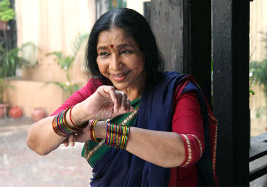 Asha Bhosle in Mai