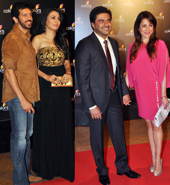 Kabir Khan-Mini Mathur and Sameer Soni-Neelam Kothari