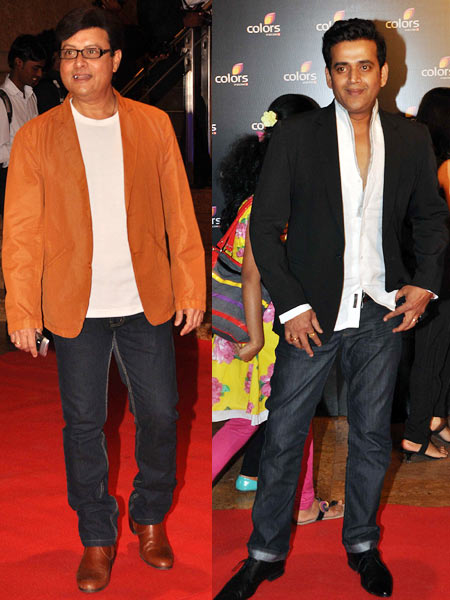 Sachin Pilgaonkar and Ravi Kissen