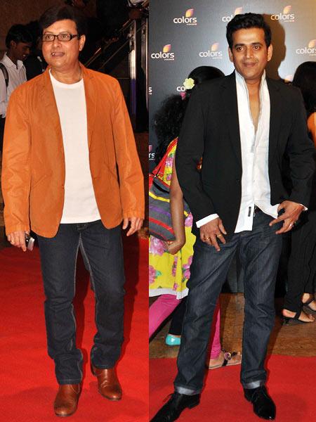 Sachin Pilgaonkar and Ravi Kissen
