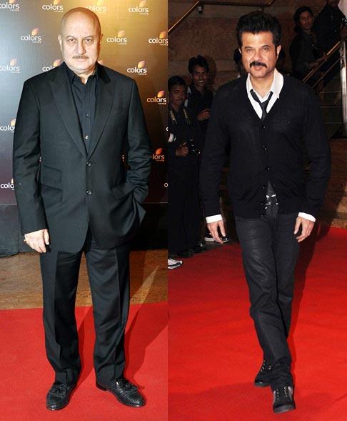 Anupam Kher and Anil Kapoor