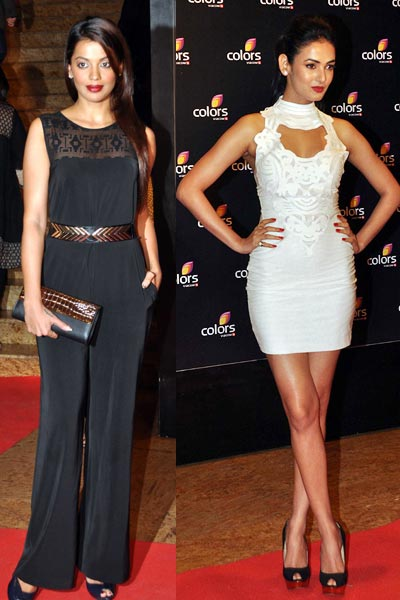 Mugdha Godse and Sonal Chauhan