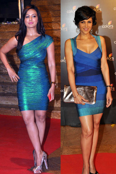 Sana Khan and Mandira Bedi