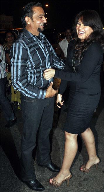 Gulshan Grover and Mahima Chaudhary
