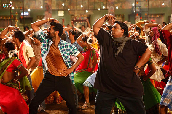 Prabhu Deva and Ganesh Hegde in Anybody Can Dance