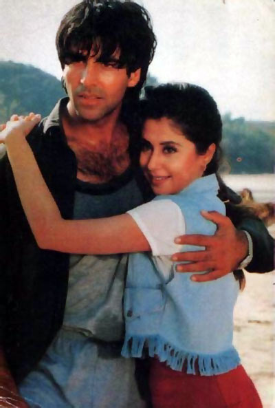 Akshay Kumar with Urmila Matondkar in Aflatoon