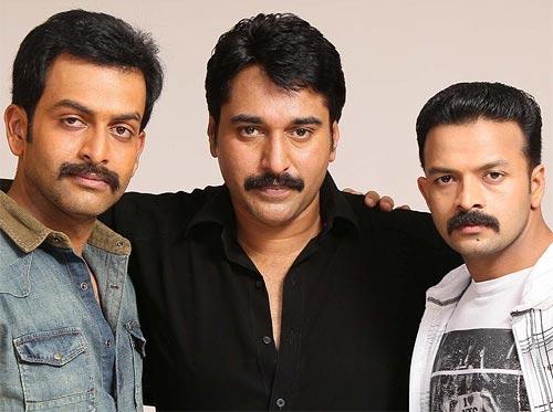Prithviraj, Rehman and Jayasurya in Mumbai Police