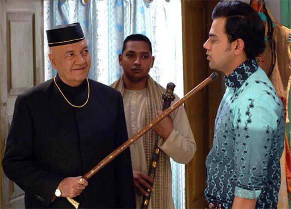 Prem Chopra Cyrus Sahukar in Delhi 6