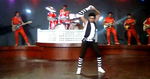 Mithun Chakraborty in Dance Dance