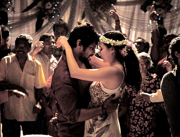Vikram and Isha Sharvani in David