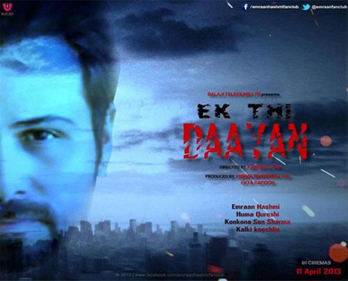 Movie poster of Ek Thi Daayan