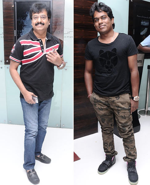 Vivek and Ilaiyaraaja's son Yuvan Shanker Raj
