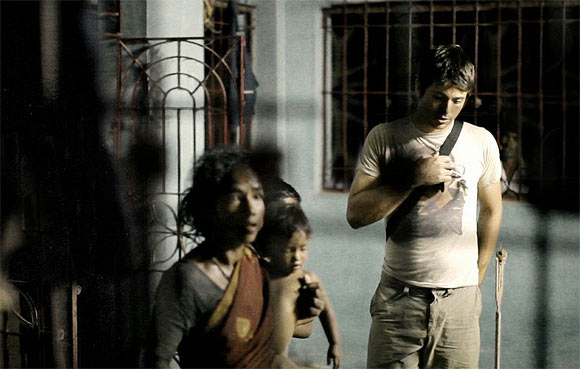 A scene from Blood Brother