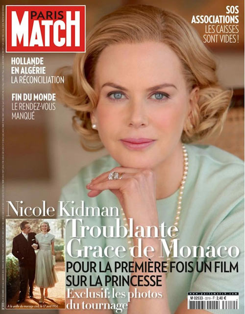 Nicole Kidman as Grace Kelly
