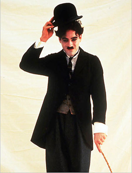 Robert Downey Jr in Chaplin