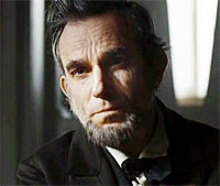 Daniel Day Lewis in and as Lincoln