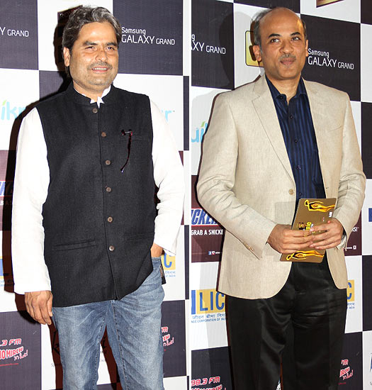 Vishal Bharadwaj and Sooraj Barjatya