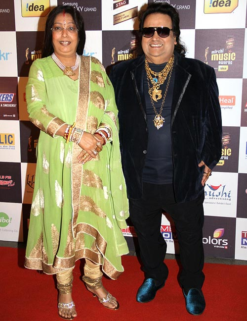 Bappi and Chitrani Lahiri
