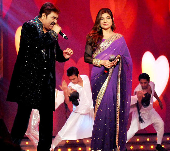 Kumar Sanu and Alka Yagnik