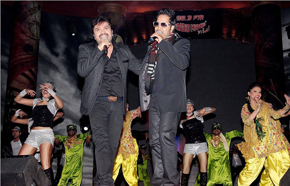 Himesh Reshammiya and Mika