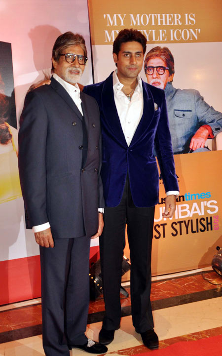 Amitabh and Abhishek Bachchan