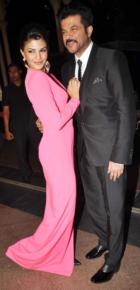 Jacqueline Fernandez and Anil Kapoor
