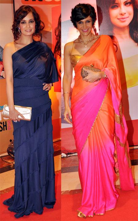 Dia Mirza and Mandira Bedi