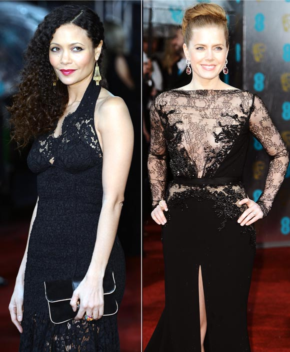 Thandie Newton and Amy Adams
