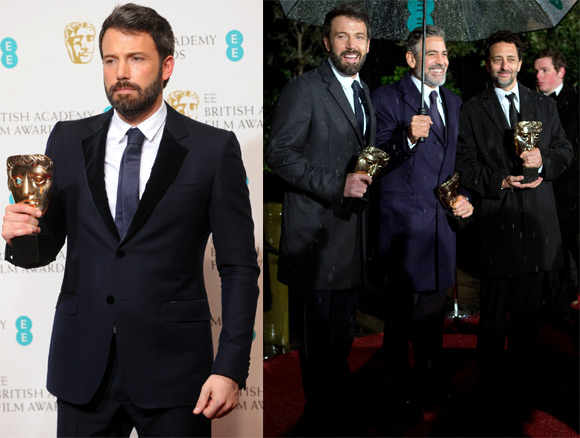 Ben Affleck and George Clooney