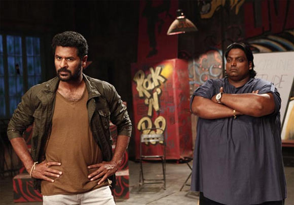 Prabhu Deva and Ganesh Acharya in ABCD