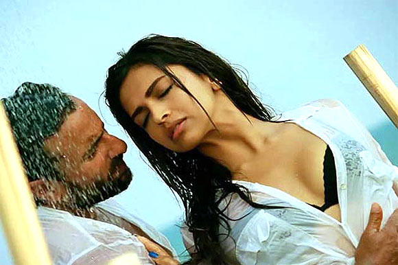 Saif Ali Khan and Deepika Padukone in Race 2