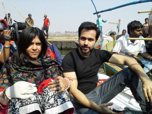 Ekta Kapoor and Emraan Hashmi