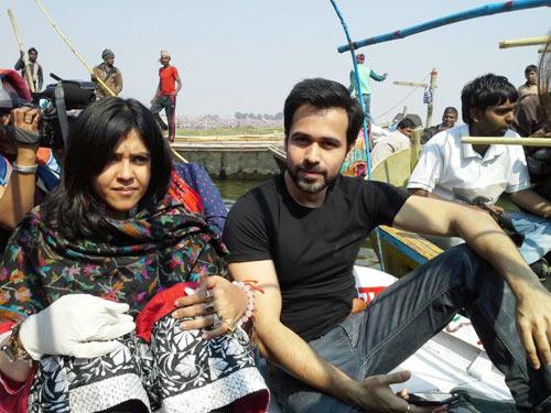 Ekta Kapoor and Emraan Hashmi