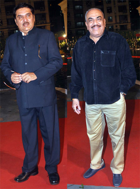 Raza Murad and Shivaji Satam