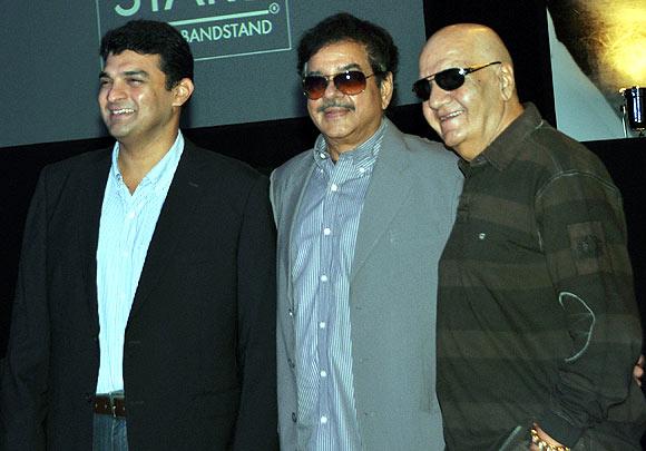 Siddharth Roy Kapoor, Shatrughan Sinha, Prem Chopra