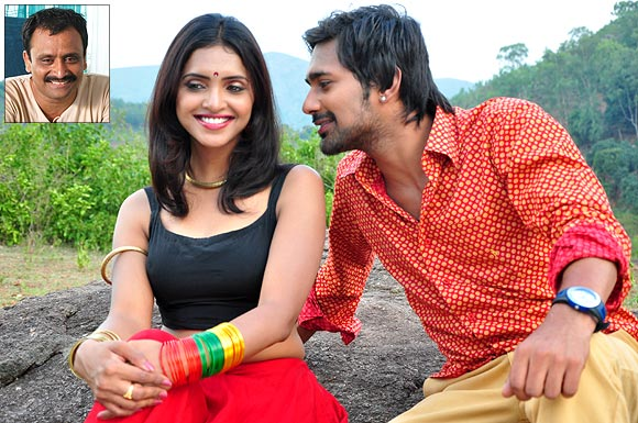 A scene from Chamak Challo. Inset: Director Neelakantha