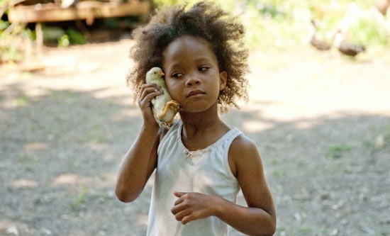 Quvenzhan  Wallis in Beats Of The Southern Wild