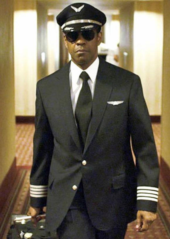 Denzel Washington in Flight