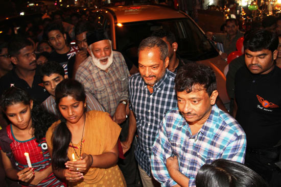 Nana Patekar and Ram Gopal Varma