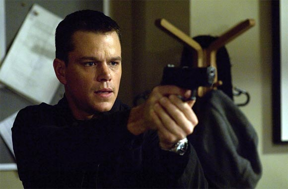 Matt Damon in The Bourne franchise