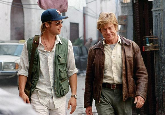 Brad Pitt and Robert Redford in Spy Games