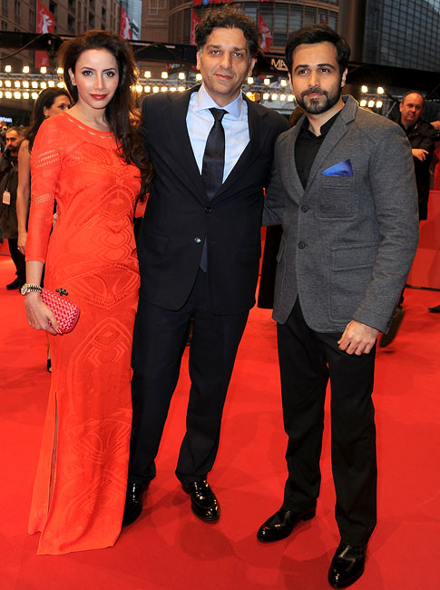 Prashita Chaudhary, Danis Tanovic and Emraan Hashmi