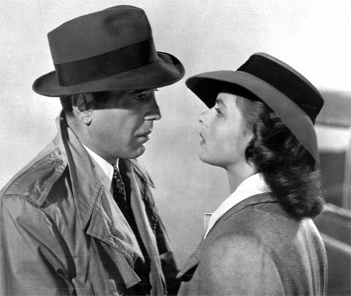A scene from Casablanca